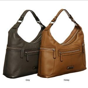 Etienne Aigner Cooper Collection Leather Handbag